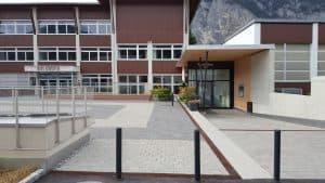 NMS Kematen - Eingang Trainingshallen