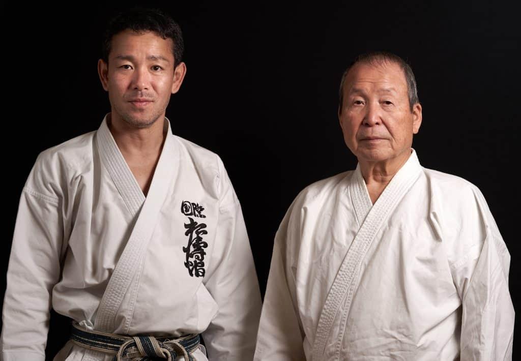 Fumitoshi Kanazawa Sensei und Nagai Akio Shihan